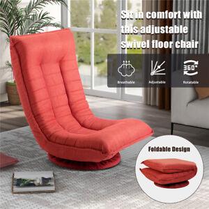 360 Degree Swivel Folded Oversize Video Game Dinning Floor Chair Lazy Room Sofa