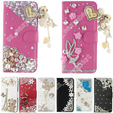 Nice Bling Diamond Crystal Rhinestone Case Jewelled Flip Cover for Various Phone