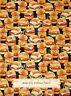 Benartex Kanvas Studios Snack Attack Hamburger Sliders Cotton Fabric By The Yard