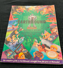 Earthbound Super Nintendo Strategy Player's Guide All Sniff Cards - Laminated