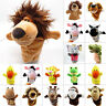 Animal Hand Gloves Soft Plush Puppets Kids Educational Children Play Toys