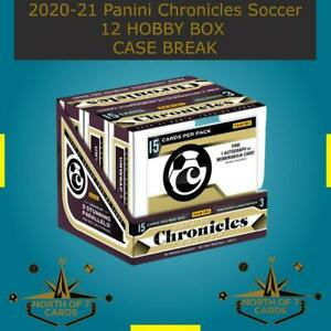 Asier Villalibre - 2020-21 Panini Chronicles Soccer 12 Hobby BOX BREAK #5