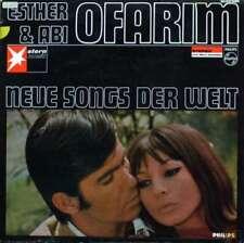 Esther & Abi Ofarim - Neue Songs Der Welt (LP, Album) Vinyl Schallplatte 85011