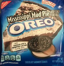 Nabisco Oreo MISSISSIPPI MUD PIE Sandwich Cookies Limited Edition World Ship!