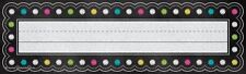 TCR 5624 Chalkboard Brights Nameplates Classroom Labels Classroom Decorations