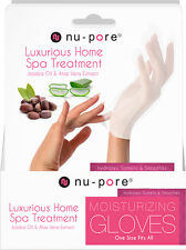 10 Pairs NU-PORE Moisturizing Gloves * Jojoba Oil Aloe Vera* Spa Treatment* New!