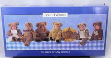 Anne Geddes 700 Piece Jigsaw Puzzle Babies In Teddy Bear Outfits Costume New