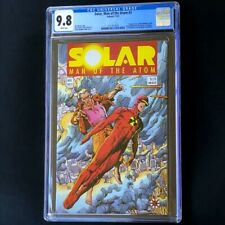 Solar Man of the Atom #3 (1991) 💥 CGC 9.8 💥 1st App Toyo Harada! Valiant Comic