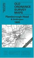 Old Ordnance Survey Map Flamborough Head & Bridlington 1905 - England Sheet 55