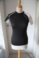 Original Tee shirt femme SALOMON xt wings 2 SS Tech Tee noir blanc T : S  neuf
