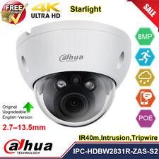 Dahua 8mp IPC-HDBW2831R-ZAS-S2 Audio IR40m H.265 Alarm SD Card IVS IP Camera