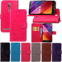 Retro Flip Leather Case Wallet Card Cover Pouch For Asus Zenfone 2 ZE551ML 5.5""