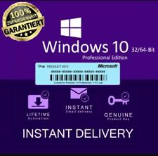 Win dows 10 Pro 32&64 Bit Full Version Product Key 24/7 instant delivery