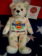 HRC HARD ROCK CAFE New Orleans Peace Beara Bear Orso Series Herrington
