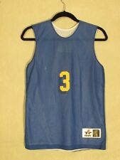 W4807 Alleson Athletic Small Women's Basketball Jersey #3 Reversible Blue /White