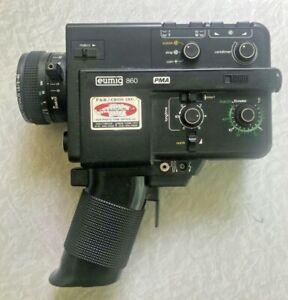 Eumig 860 PMA Super 8 Movie Camera As-Is Vintage