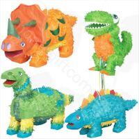 Dino Dinosaur Pinata Toys Fillers Kids Birthday Party Games Decoration Supplies