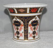 Royal Crown Derby - Imari 1128 - Planter/Spill Vase - XXXIX/1976 - 1st/vgc