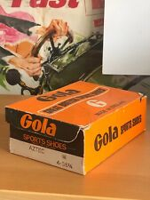 Gola Sports Shoes Trainers Vintage Box 1970's Early 1980's Scarce Great Display