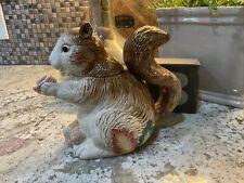 Vintage 1990 Oci Fitz and Floyd Omnibus Squirrel Teapot