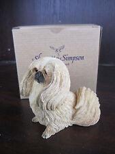 Willits SHERRATT & SIMPSON Pekingese Dog NEW IN BOX 89173