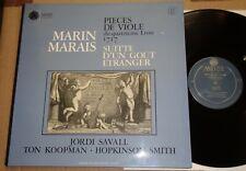 Savall/Koopman/Smith MARAIS Pieces de Viole du quatrieme Livre 1717 Astree AS 13