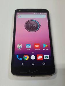 Motorola Droid Turbo 2 - 32GB - BLACK (Unlocked)- fair Condition :AA019