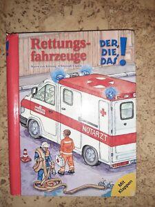 Der, die, das - Rettungsfahrzeuge
