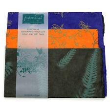 Commercio equo carta Lokta tre fogli regalo Wrap Pack gwp38