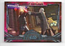 2016 Topps Star Wars Masterwork Great Rivalries GR-3 Skywalker Rainbow 226/299