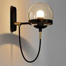 Glass Ball Wall Light Spherical LED Wall Lamp Vintage Industrial Loft Bar Sconce