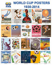 FIFA  World Cup Posters (1934 - 2014) - 8x10 Photo