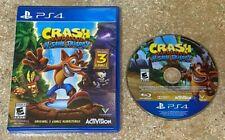 Crash Bandicoot N. Sane Trilogy (Sony PlayStation 4, 2017) Ps4