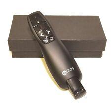 eSUN Wireless Laser Presenter Pointer Remote, RF 2.4GHz USB Black  AO