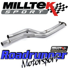 "Milltek BMW M3 F80/M4 F82 decat EXHAUST 3"" secondaire Cat Bypass pipe SSXBM1032"