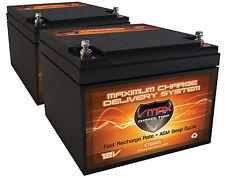 QTY 2 VMAX V28-800S Solar Wind Backup AGM Deep Cycle High Performance BATTERY