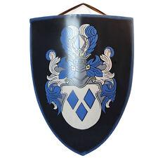 Knight of Valor Crest Medieval Crusader  Battle Shield