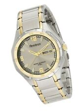 Armitron Men's 37mm Two-Tone Stainless Steel Dress Watch silver