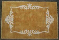 Tapis rug ancien Europeen Français Beauvais 1950