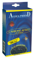 Carbone super attivo vegetale per acquari accessori Acqua Friend - 900 mq/gr