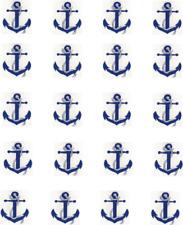 Blue Anchor Waterslide Nail Decals/Nail art