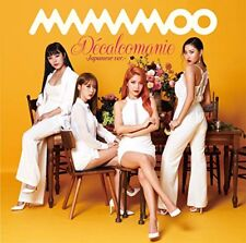 New MAMAMOO Decalcomanie Japanese ver. First Press Limited Edition CD Card Japan