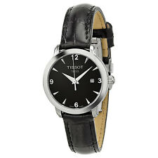 Tissot Everytime Black Dial Ladies Watch T0572101605700