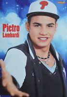 PIETRO LOMBARDI - A4 Poster (ca. 21 x 28 cm) - DSDS Clippings Fan Sammlung NEU