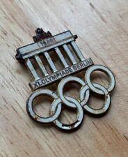 Original Berlin 1936 Olympics Oympiade pin, German WW2