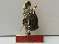 BPOE Elks Club Lodge LADY ELKS 2275 Highlander in Kilt Pin Enamel & Gold Tone