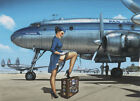 Pan American Airlines Vintage Pin Up Poster