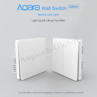 Xiaomi Mijia Aqara Neutral Line Type Remote Control Wall Switch Light  gift