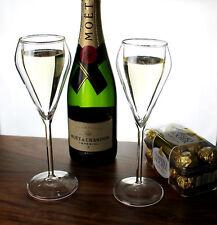 Champagne Glas Thermo Gläser Champagneglas 4 er Set Doppelwandig von Cosy Trendy