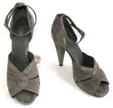 ebec775c26e7 COMPTOIR DES COTONNIERS Court shoes flange leather velvet grey 38